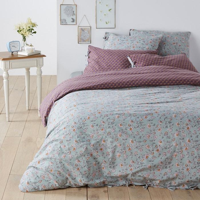 Copripiumone cotone lavato COUNTRY FLOWER  La Redoute Interieurs image 0