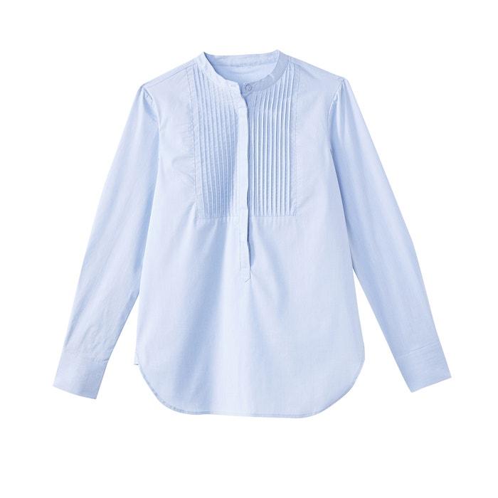 y La plastr Camisa Redoute mao Collections 243;n plisado cuello con xfnfYCpqw