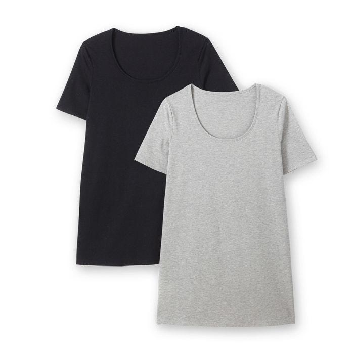 Confezione da 2 T-shirt a maniche corte  CASTALUNA image 0
