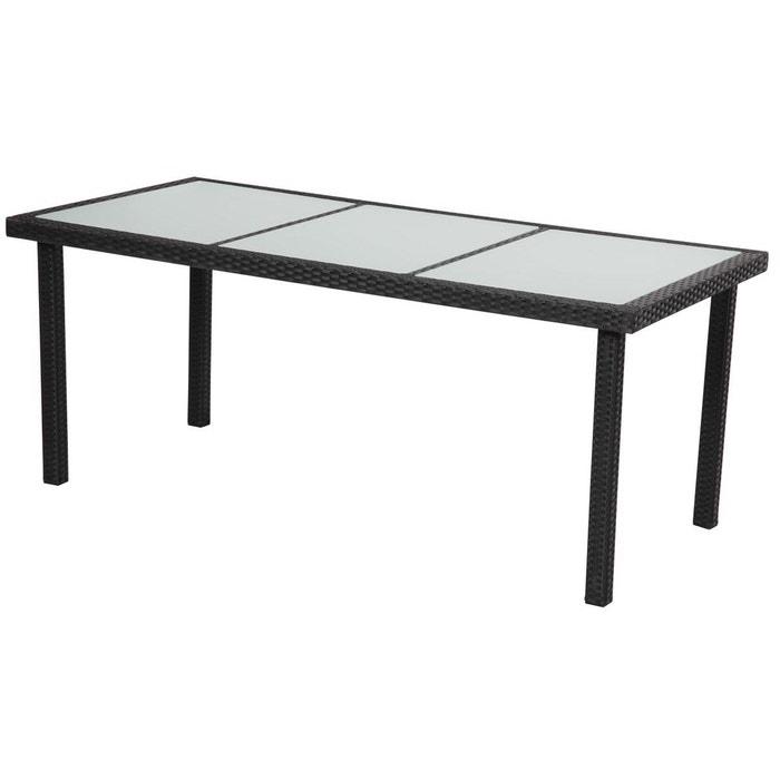Table de jardin st tropez 8 atlanta 180 x 90 x 74 cm for Table jardin la redoute