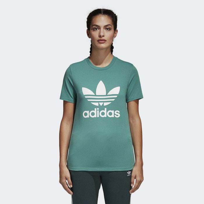 Tee shirt col rond manches courtes imprimé devant Adidas Originals ... b574224e8fb
