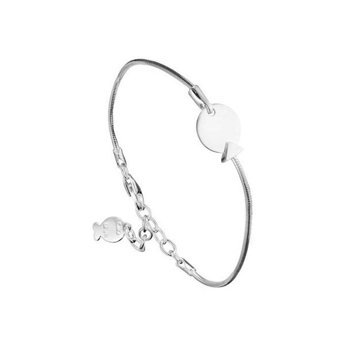 Bracelet chaîne bubble en argent 925, 3.8g argent Clio Blue | La Redoute
