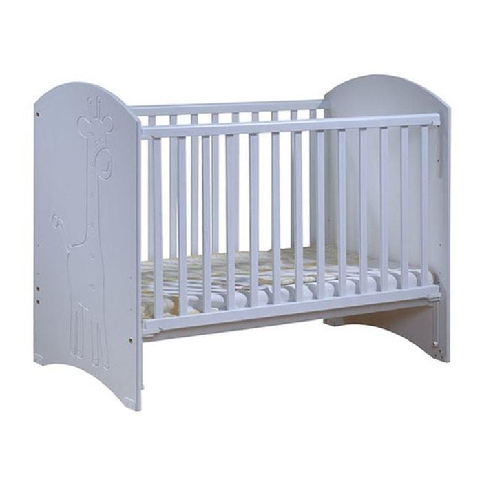 lit b b barri re coulissante savana blanc sogan la. Black Bedroom Furniture Sets. Home Design Ideas