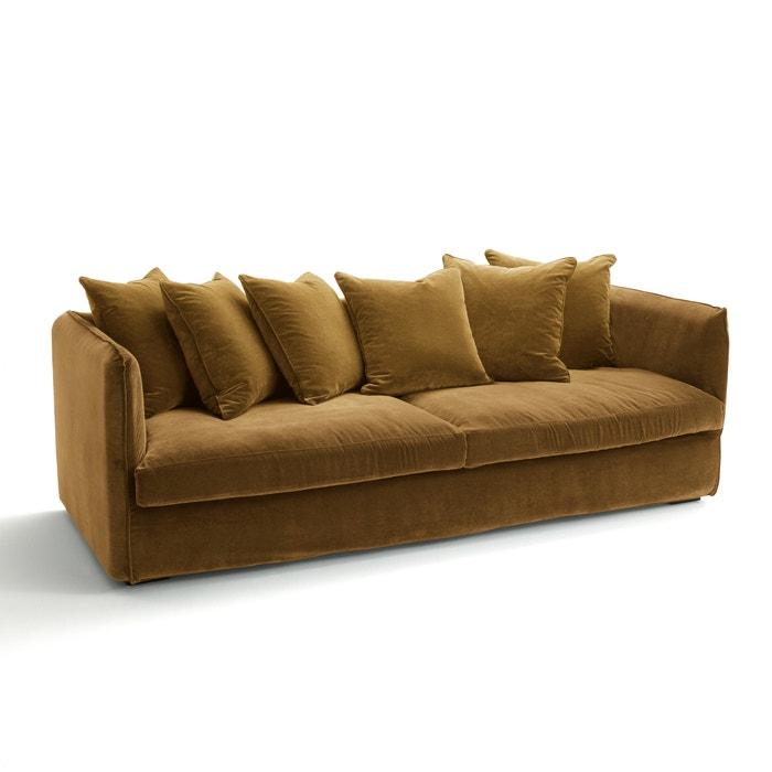 Sofa Neo Chiquito Samt Ohne Schlaffunktion Am Pm La Redoute