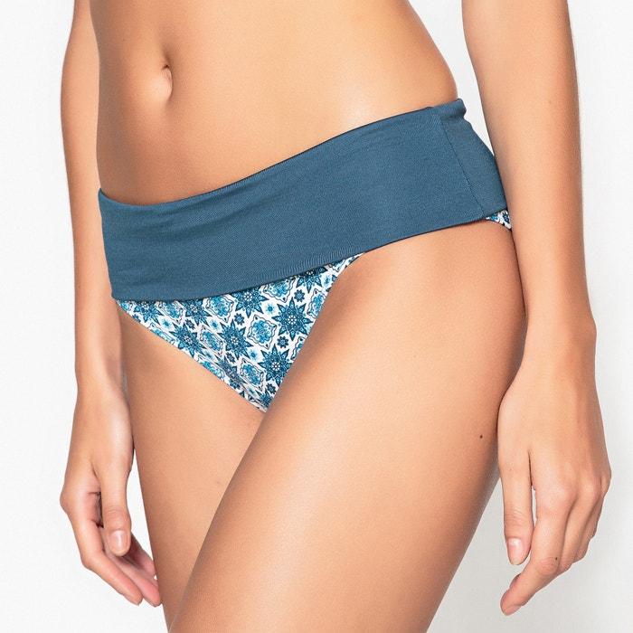 Bedrukte hoge bikinislip  La Redoute Collections image 0