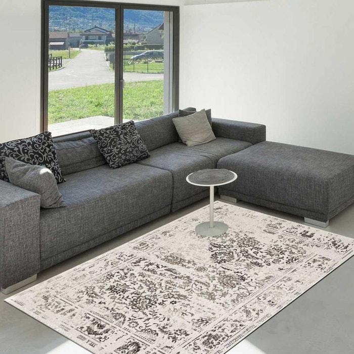 tapis de salon moderne design oriental destructure. Black Bedroom Furniture Sets. Home Design Ideas