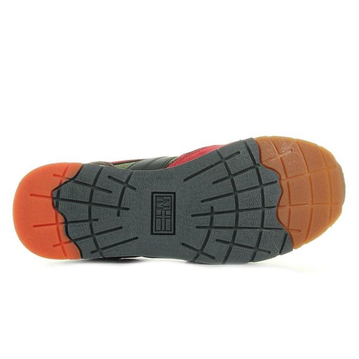 Baskets homme rabari suede textile turtle khaki brown kaki, bordeaux, noir Napapijri