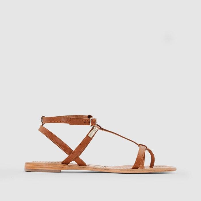 sandales cuir plates hilan les tropeziennes par m belarbi la redoute. Black Bedroom Furniture Sets. Home Design Ideas