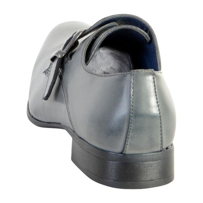 Chaussure derby gris gris Enzo Marconi