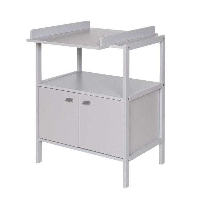 table langer selma grise claire geuther gris clair. Black Bedroom Furniture Sets. Home Design Ideas