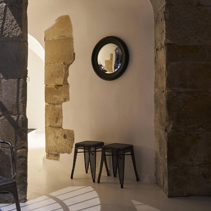 Espelho côncavo Habel com moldura preta, diâmetro 60 cm  AM.PM. image 0