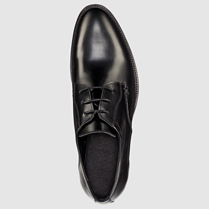 de piel Redoute La Derbys Collections Zapatos cordones con xSvR4IqwR