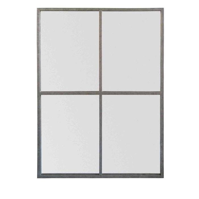 Miroir fen tre style industriel 90x120 marcel couleur for Miroir 90x120