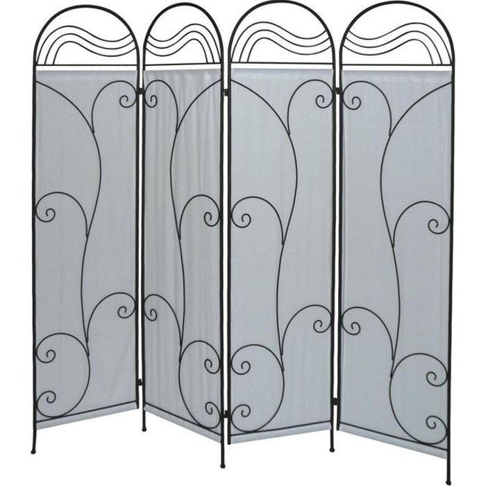paravent metal 294306 3 aubry gaspard la redoute. Black Bedroom Furniture Sets. Home Design Ideas