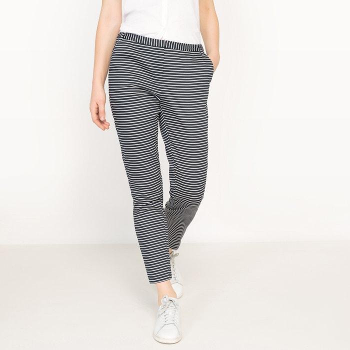 Image Pantaloni 7/8 righe, satin di cotone R édition