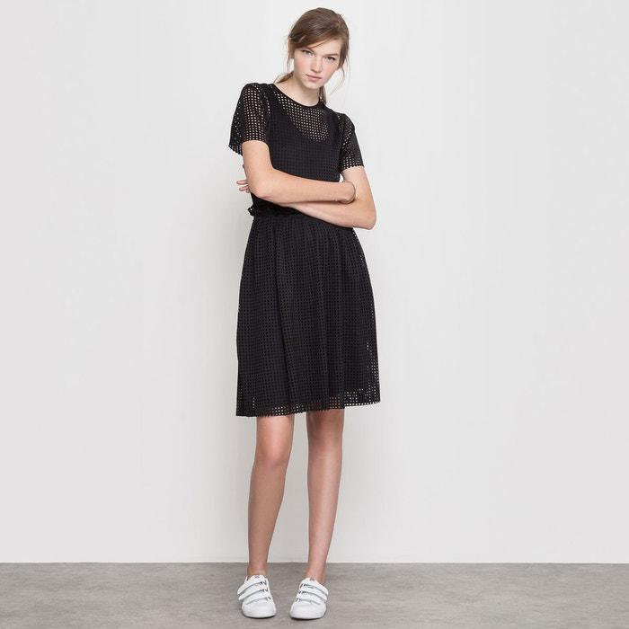 robe d coupes laser mademoiselle r en solde la redoute. Black Bedroom Furniture Sets. Home Design Ideas