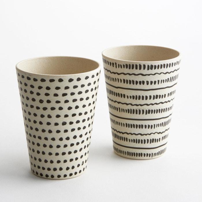 Image Gobelet en bambou, Bamboska (lot de 4) La Redoute Interieurs