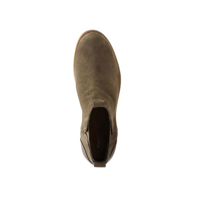 Boots cuir Maypearl Daisy, Marron Foncé
