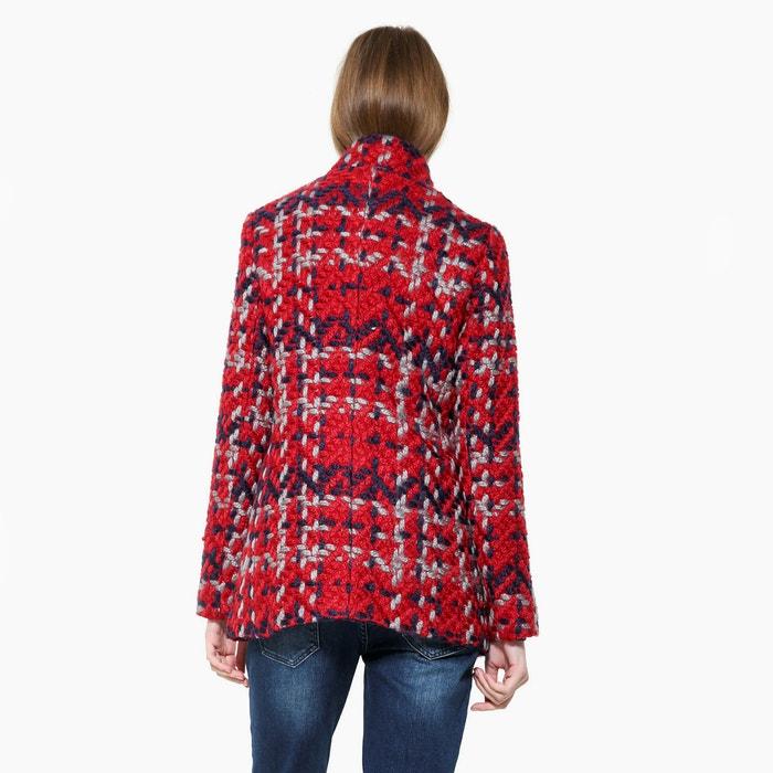 Desigual Manteau à carreaux mi-long 9iTaQ5y8Ig