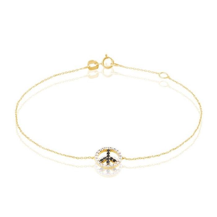 Bracelet or et oxyde jaune Histoire D'or | La Redoute Acheter Pas Cher 2018 F9PiHfeoW