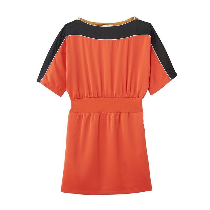 7dc7459bbfb Robe style sportswear satinée grenadine La Redoute Collections