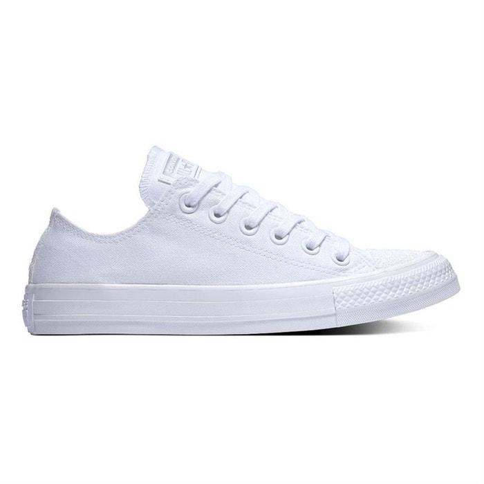 basket femme tissu blanc converse