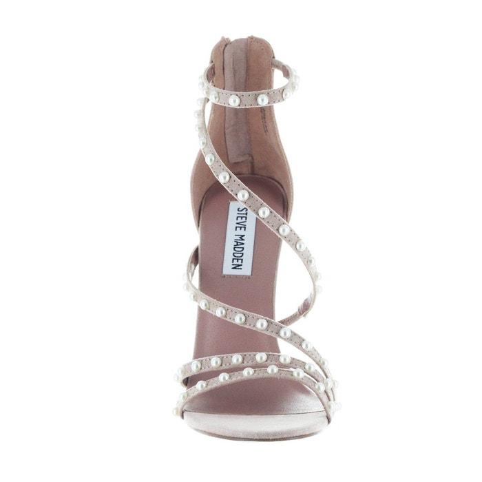 Sandale à talon avec perles Steve Madden