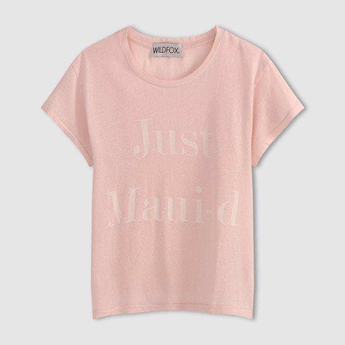 Image T-shirt JUST MAUI-D WILDFOX