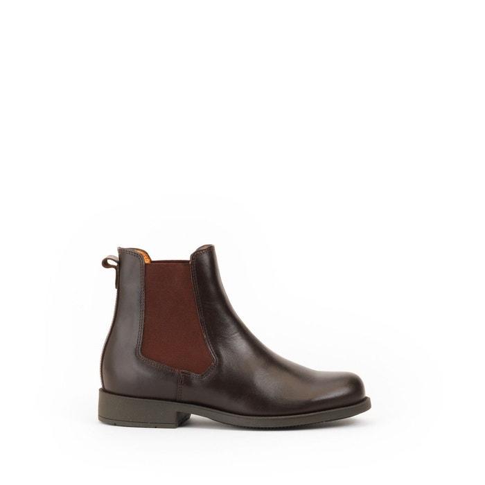 703e34f6896 Chelsea boots en cuir orzac Aigle