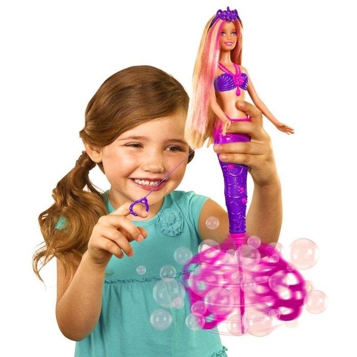 Poup e barbie sir ne bulles magiques barbie la redoute - Barbi la sirene ...