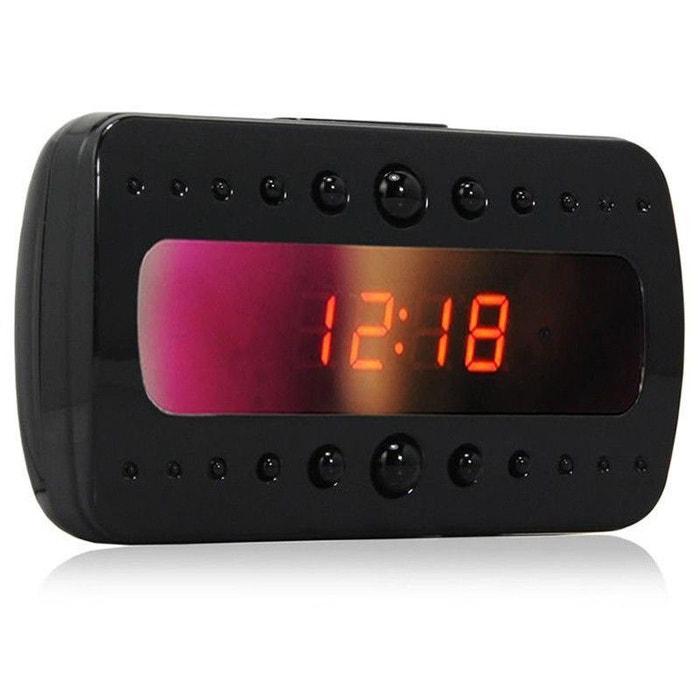 r veil camera espion 1080p d tecteur de mouvement vision nocturne 4 go couleur unique yonis la. Black Bedroom Furniture Sets. Home Design Ideas