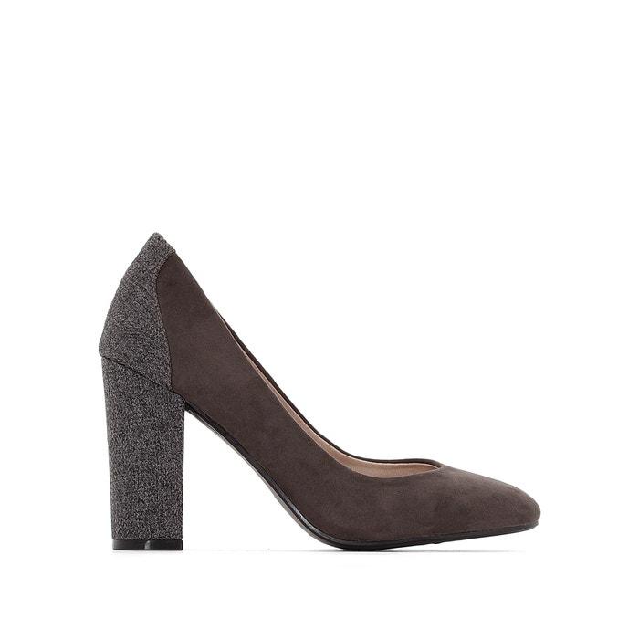 Туфли на оригинальном каблуке для широкой стопы 38-45  CASTALUNA image 0