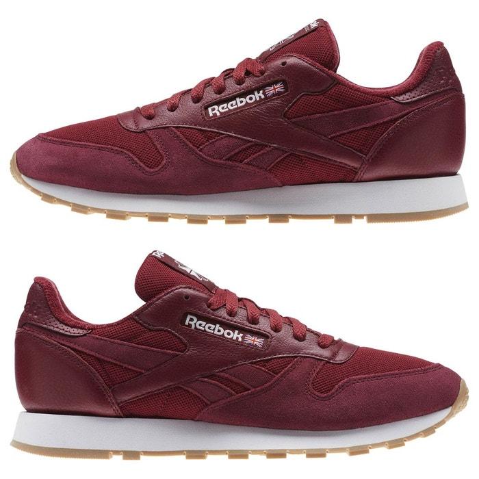 Une chaussure pour homme classic rouge Reebok Classics
