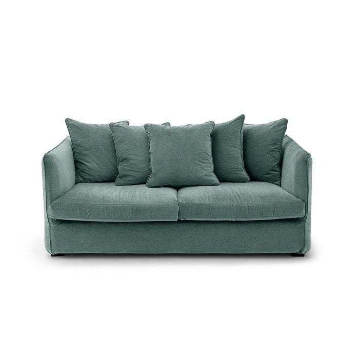 canap conv neo chiquito velours stonewashed am pm la redoute. Black Bedroom Furniture Sets. Home Design Ideas