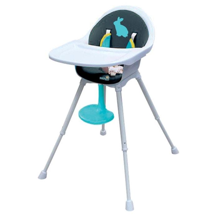 chaise haute r hausseur 3 en 1 bleu baby sun la redoute. Black Bedroom Furniture Sets. Home Design Ideas
