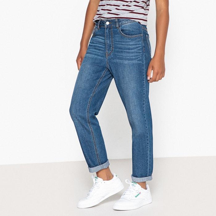 Jeans taglio mom 10-16 anni  La Redoute Collections image 0