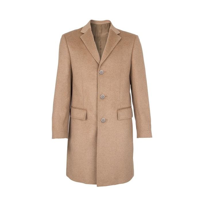 Manteau trois quart 100% cachemire chamois camel tabac Bregal Pelchat   La  Redoute 5fee5d127b1c