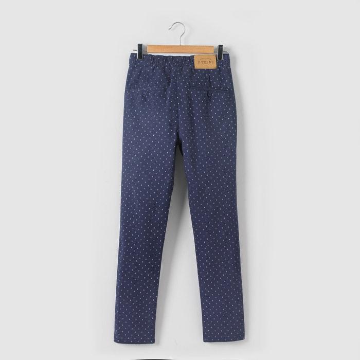 Image Pantalon imprimé micro-motifs 10-16 ans La Redoute Collections