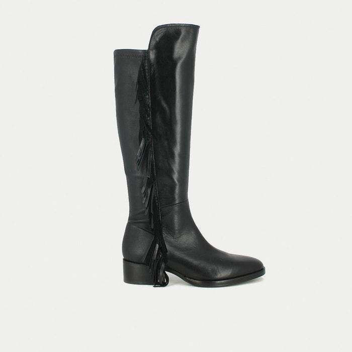 Image Boots cuir à franges Mina JONAK