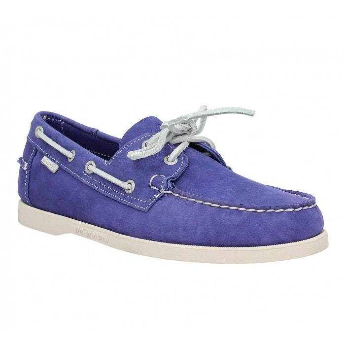 Chaussures bateaux homme sebago docksides velours  homme bleu violet  bleu/violet Sebago  La Redoute