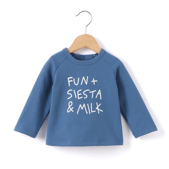 afbeelding Sweater met opschrift La Redoute Collections