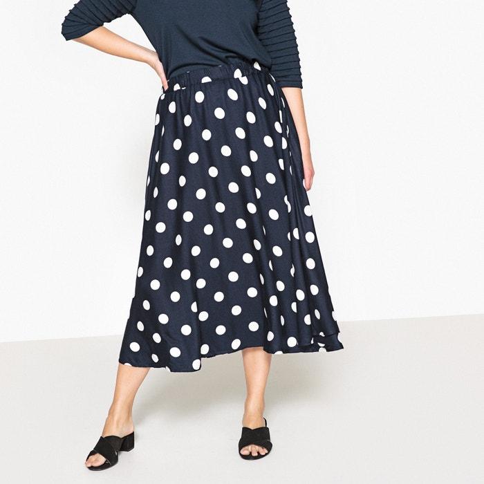 Polka Dot Print Midi Skirt  CASTALUNA image 0
