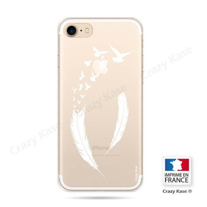 coque plume iphone 7