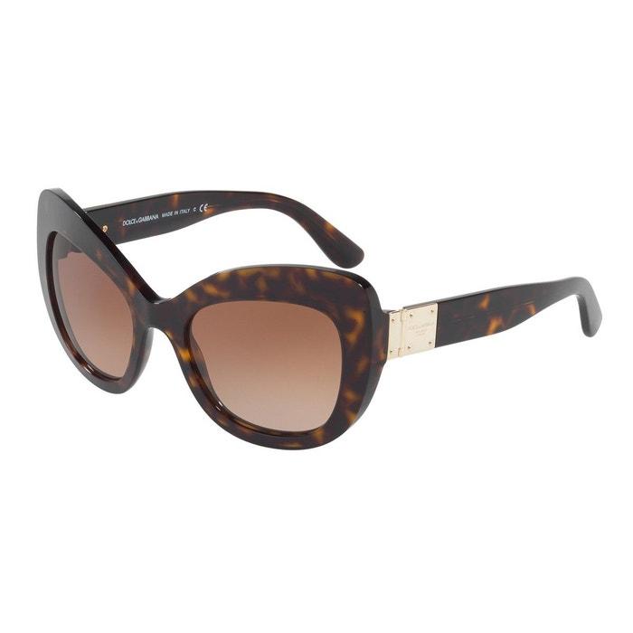 Lunettes de soleil dg4308 marron glacé Dolce Gabbana | La Redoute Eastbay Vente En Ligne dégagement offres KDzWd