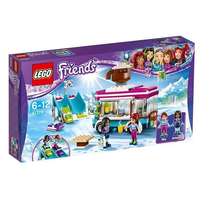 Lego Camionnette Ski La Friends 41319 De Station Chocolat À DWEIYH92