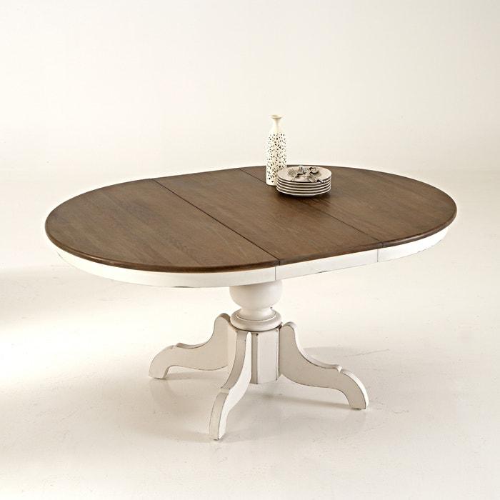 Grande Table A Manger Avec Rallonge: Eulali Extendable Oak/pine Dining Table (seats 4-8) La