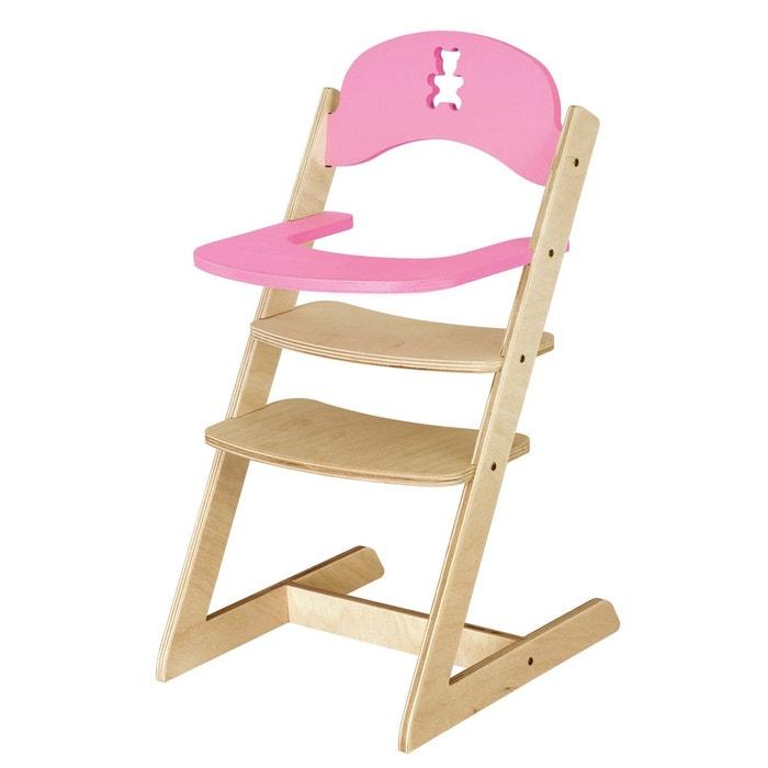 chaise haute nounours en bois jb bois la redoute. Black Bedroom Furniture Sets. Home Design Ideas