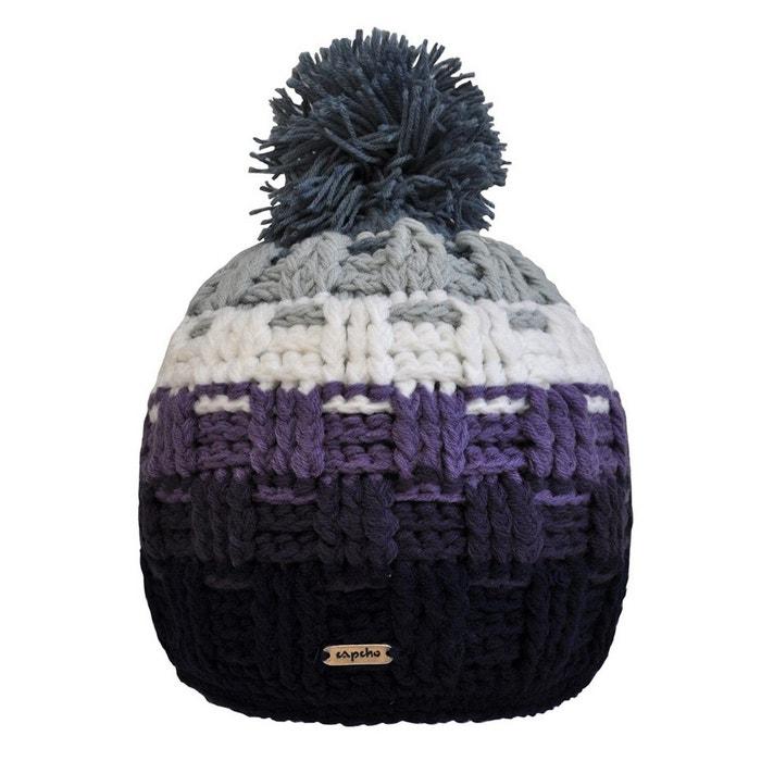 Best-seller De Sortie Collections De Vente Bonnet à pompon platine purple multicolore Toutacoo   La Redoute Le Plus Grand Fournisseur De Réduction Combien Le Prix Pas Cher Frjdi