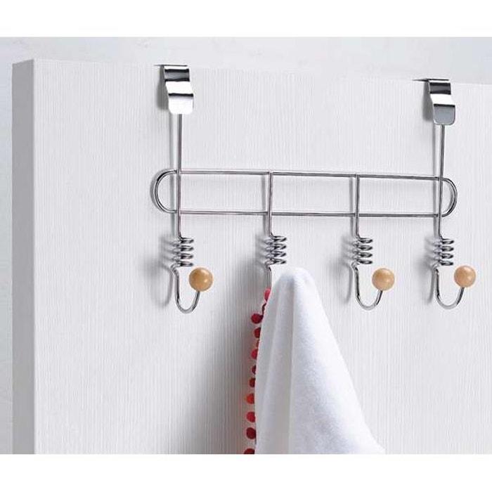 pat re porte manteau de porte spirale argent compactor la redoute. Black Bedroom Furniture Sets. Home Design Ideas
