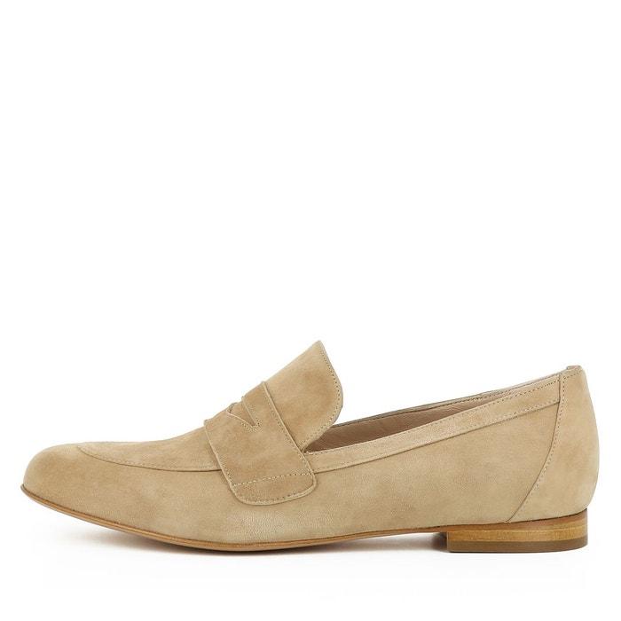 Slippers femme beige Evita